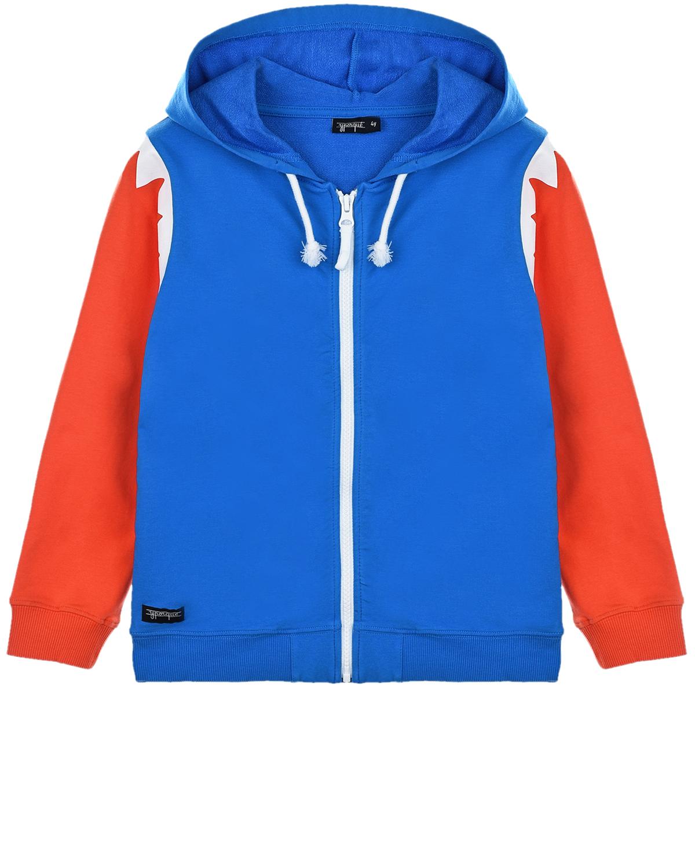 Купить Спортивная куртка с капюшоном Yporque детская, Мультиколор, 70%хлопок+25%модал+5%эластан