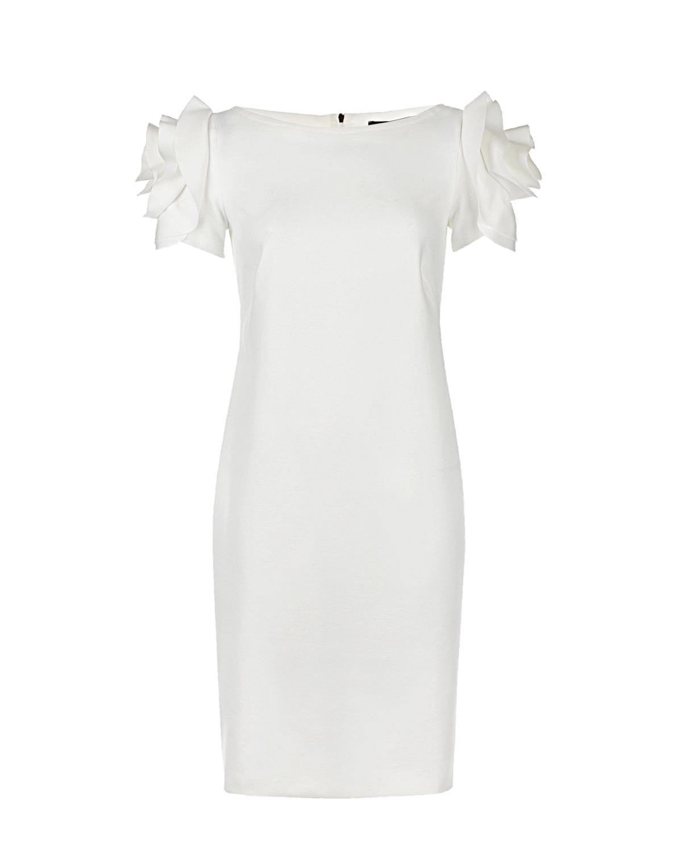 Кремовое платье-футляр для беременных Capri dress Pietro Brunelli Кремовое платье-футляр для беременных Capri dress Pietro Brunell кремового цвета