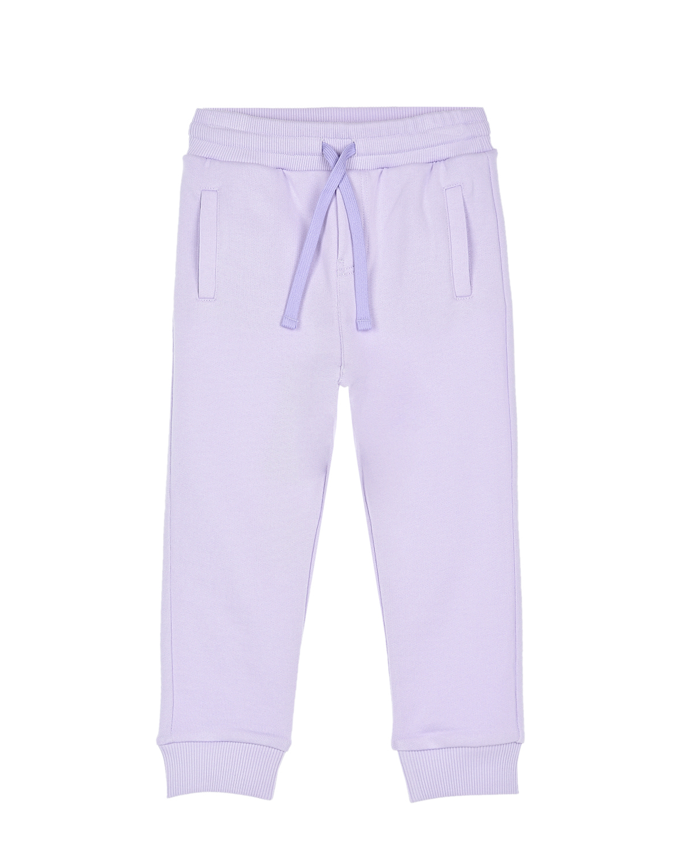 Купить Сиреневые спортивные брюки Dolce&Gabbana детские, Нет цвета, 100%хлопок, 95%хлопок+5%эластан