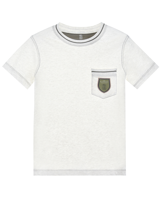 футболка brunello cucinelli для мальчика