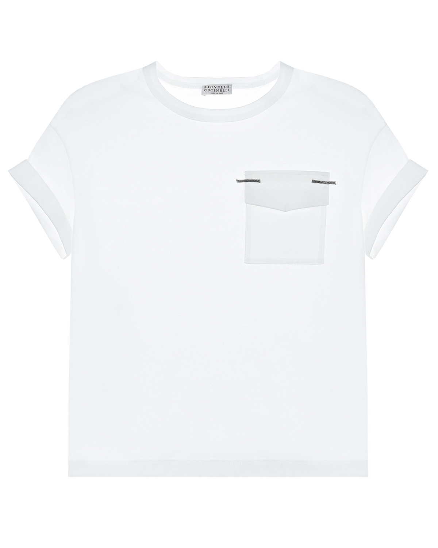 футболка brunello cucinelli для девочки