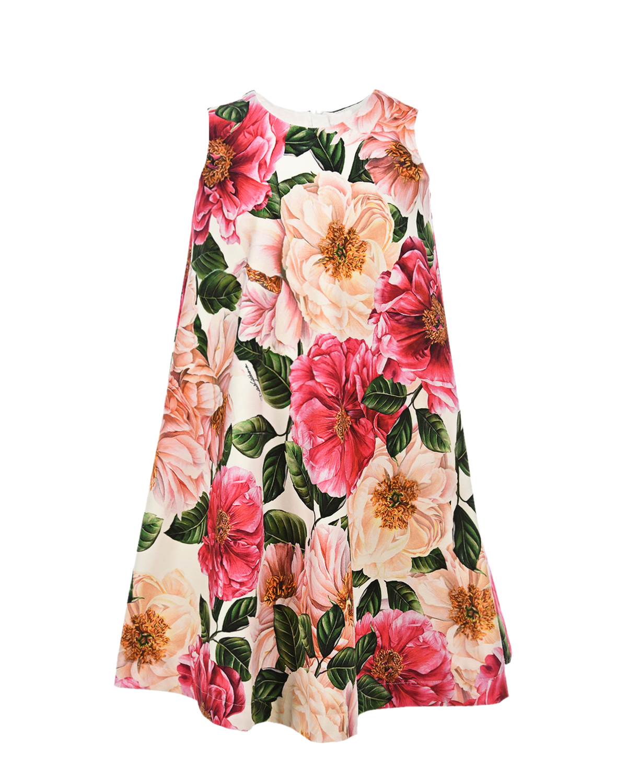 платье без рукавов dolce & gabbana для девочки