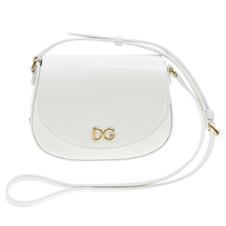 кожаные сумка dolce & gabbana для девочки