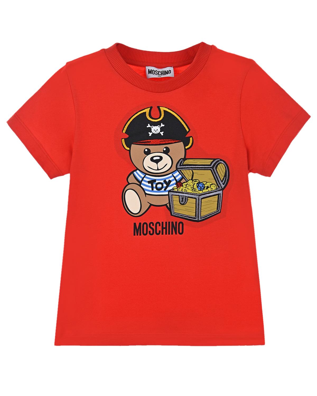 футболка moschino для мальчика