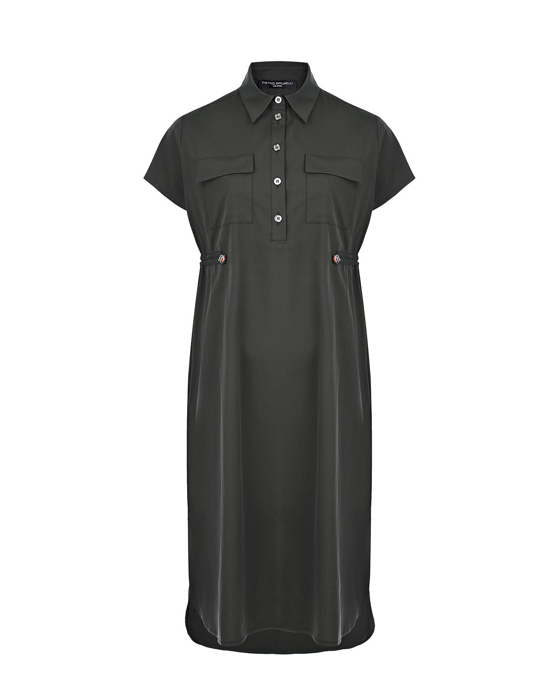 Платье для беременных цвета хаки MIRANDA Pietro Brunelli цвета хаки