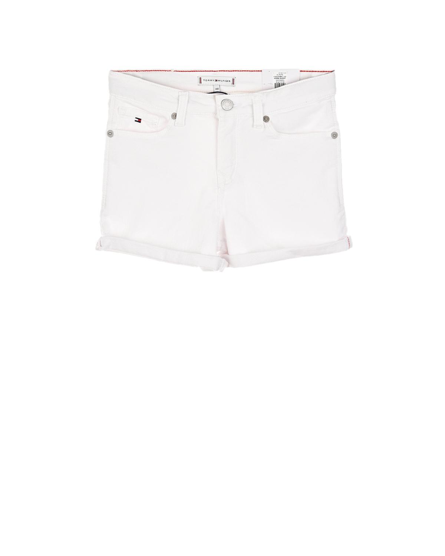 джинсовые шорты tommy hilfiger для девочки