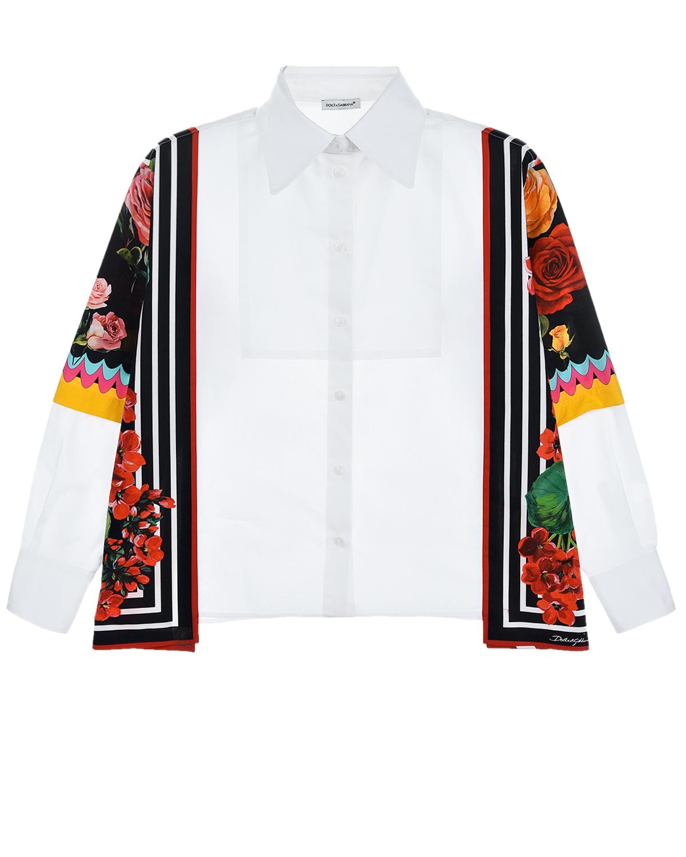 рубашка dolce & gabbana для девочки
