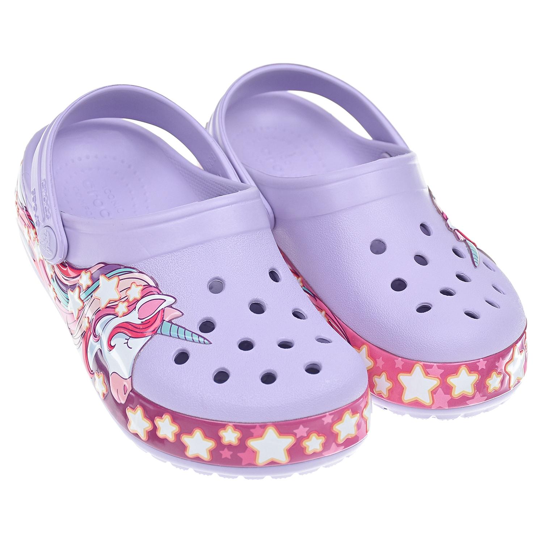 сланцы crocs для девочки