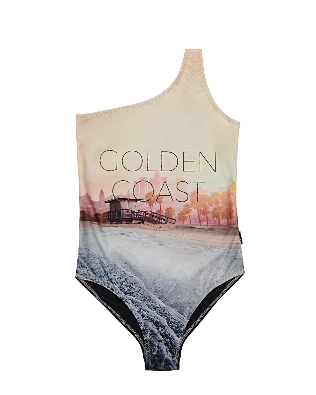 Купить Слитный купальник Nai Golden Coast Molo детский, Мультиколор, 86%полиэстер+14%эластан, 80%нейлон+20%эластан, 85%нейлон+15%эластан