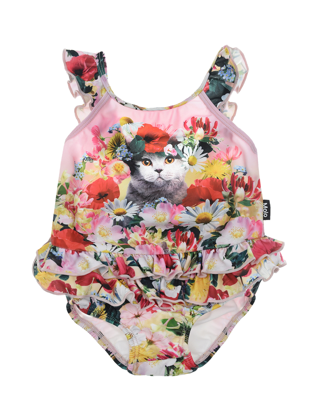 Купить Купальник Nalani Flower Cat Molo детский, Мультиколор, 86%полиэстер+14%эластан, 100%нейлон