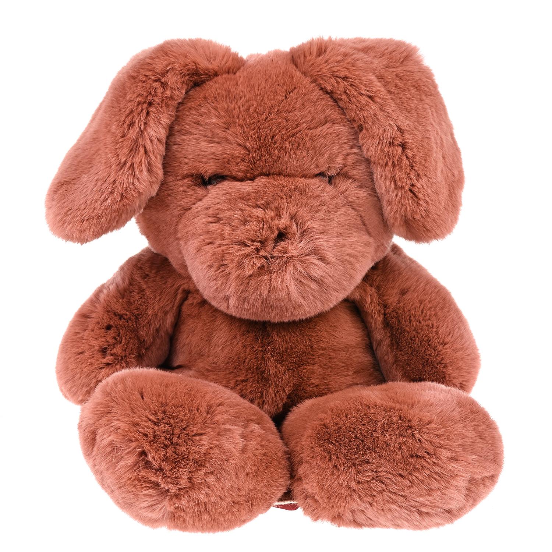 Купить Меховой рюкзак-кролик 41x23x15 см Yves Salomon детский, Нет цвета, мех кролика, 100%полиэстер
