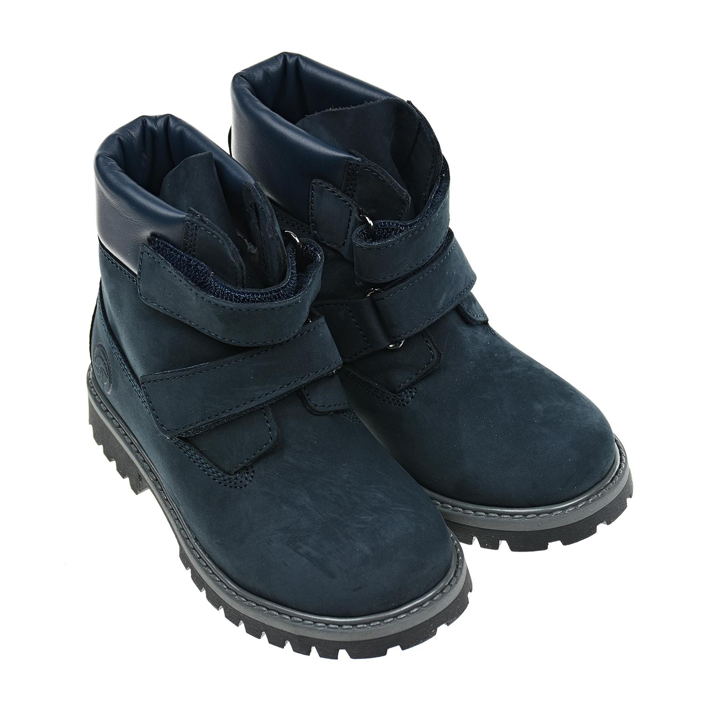 Синие ботинки на липучках Zecchino d Oro детские фото