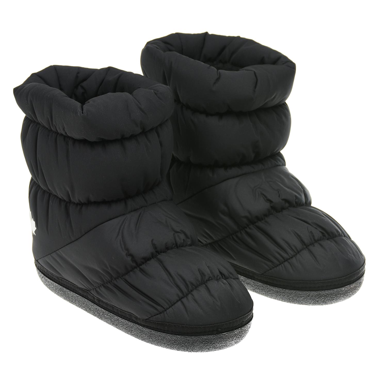 Купить Черные стеганые мунбуты Dsquared2 детские, Черный, верх-100%полиэстер, подкладка и стелька-100%полиэстер, подошва-100%термопластичная резина