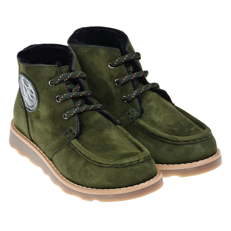 ботинки dolce & gabbana для мальчика