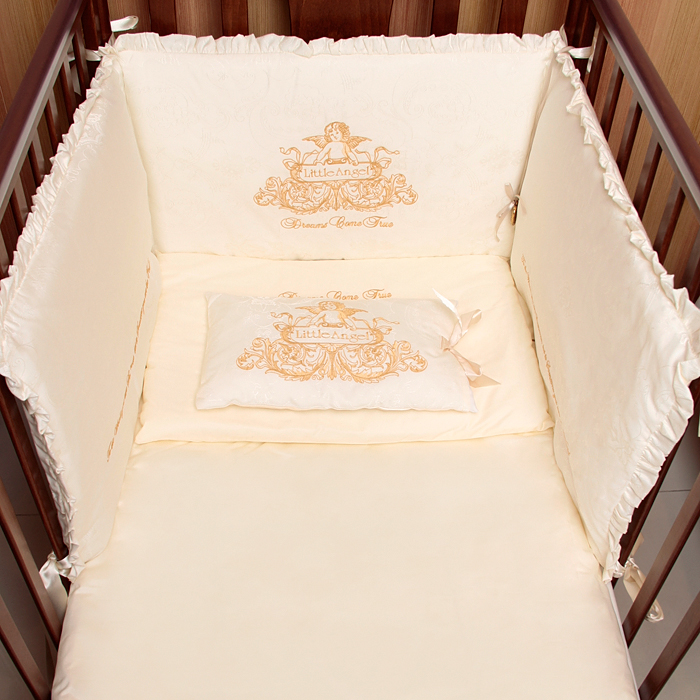 Белье постельное из 7 предметов Magrami Vintage с ангелом
