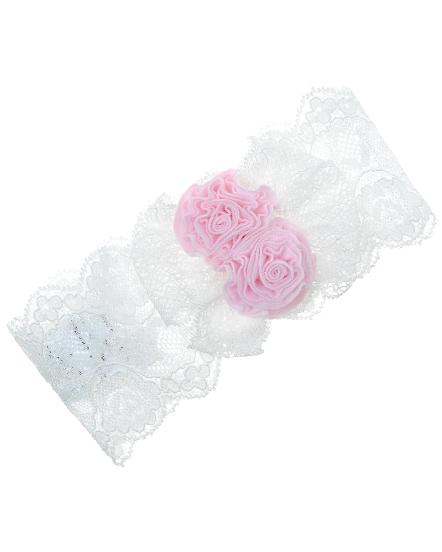 Купить со скидкой Кружевная повязка с декоративной отделкой Aletta