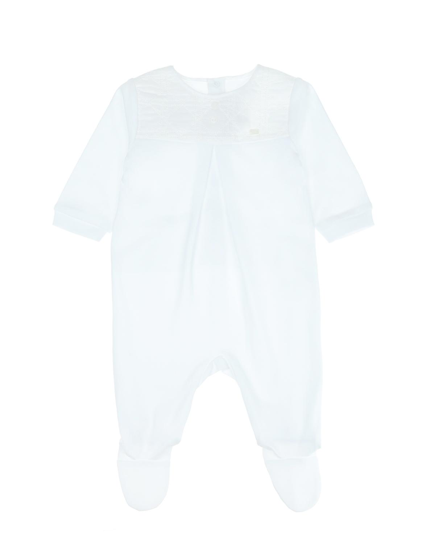 Купить Белый комбинезон с вышивкой «Cannage», Dior