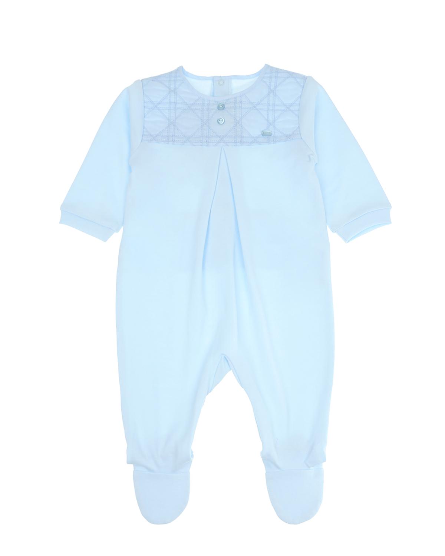 Купить Голубой комбинезон с вышивкой «Cannage», Dior