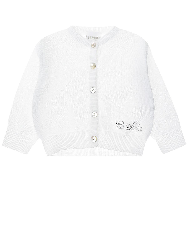 Купить Кофта La Perla детская, Белый, 100%хлопок