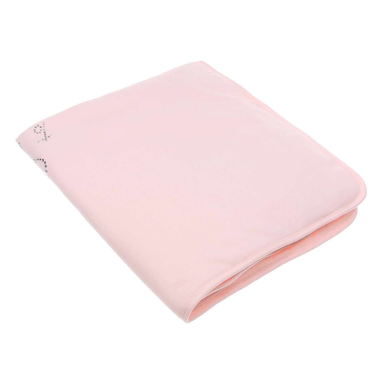Розовое одеяло La Perla детское фото