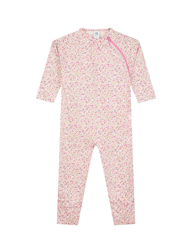 Купить Комбинезон с цветочным принтом Sanetta детский, Мультиколор, 100%хлопок