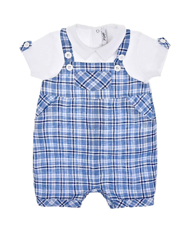 Песочник с имитацией рубашки и брюк Aletta.