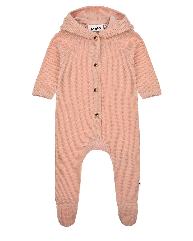 Купить Розовый комбинезон Faith Petal Blush Molo детский, Нет цвета, 100%хлопок