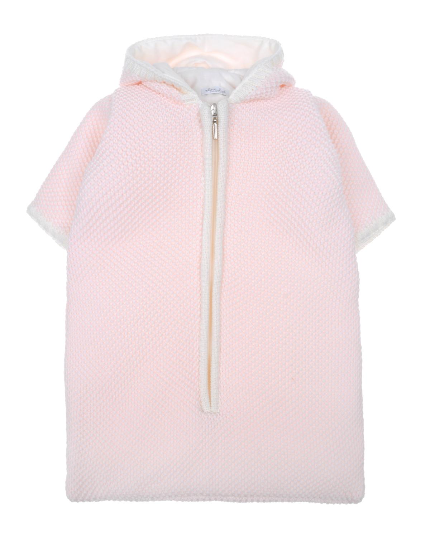 Купить Конверт из мериносовой шерсти KYO детский, Розовый, 100%шерсть мериноса, 100%хлопок, 100%полиэстер