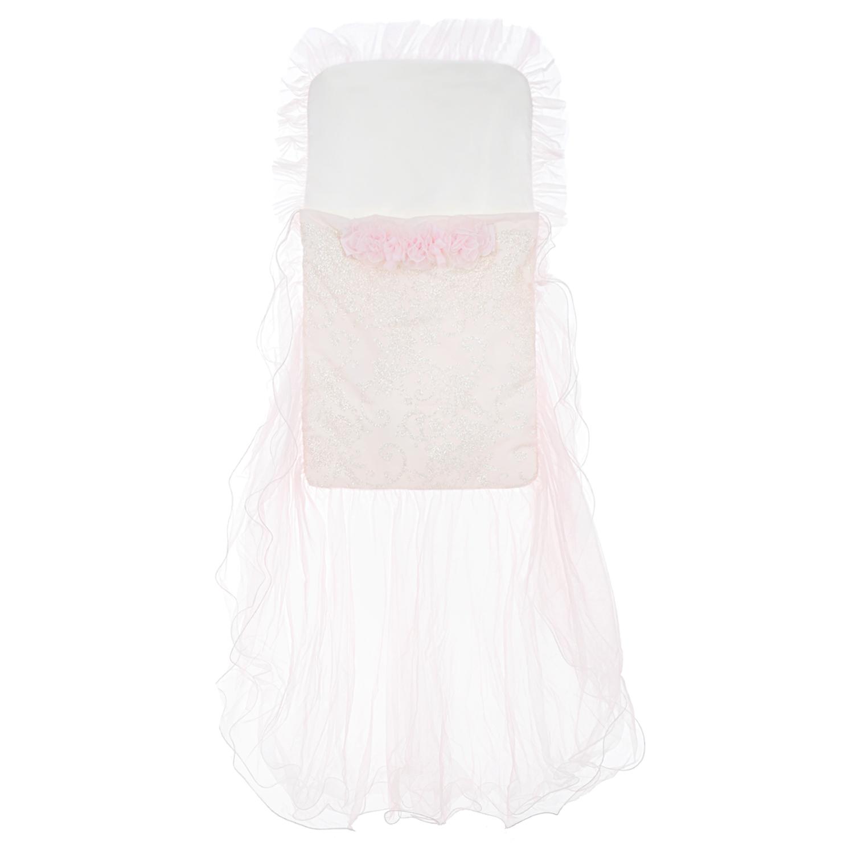 Купить Конверт с розовым шлейфом Ladia детский, Розовый, 100%шелк, 100%хлопок