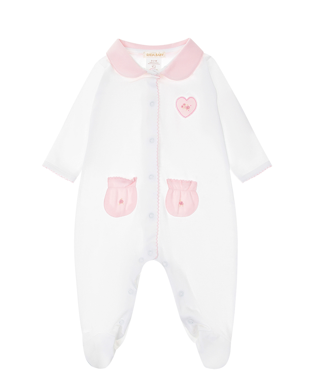 Комбинезон из хлопка с карманами Lyda Baby детский фото