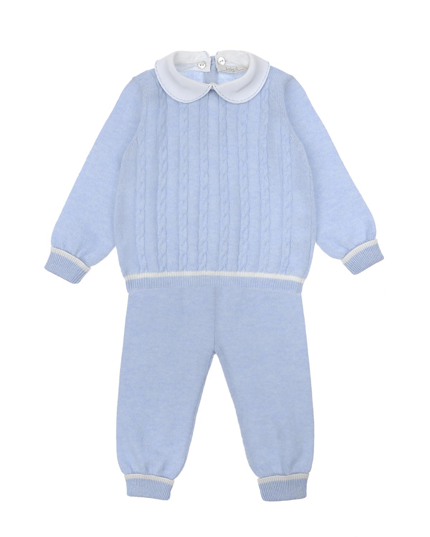 Комплект из джемпера и брюк из кашемира Tomax детский фото