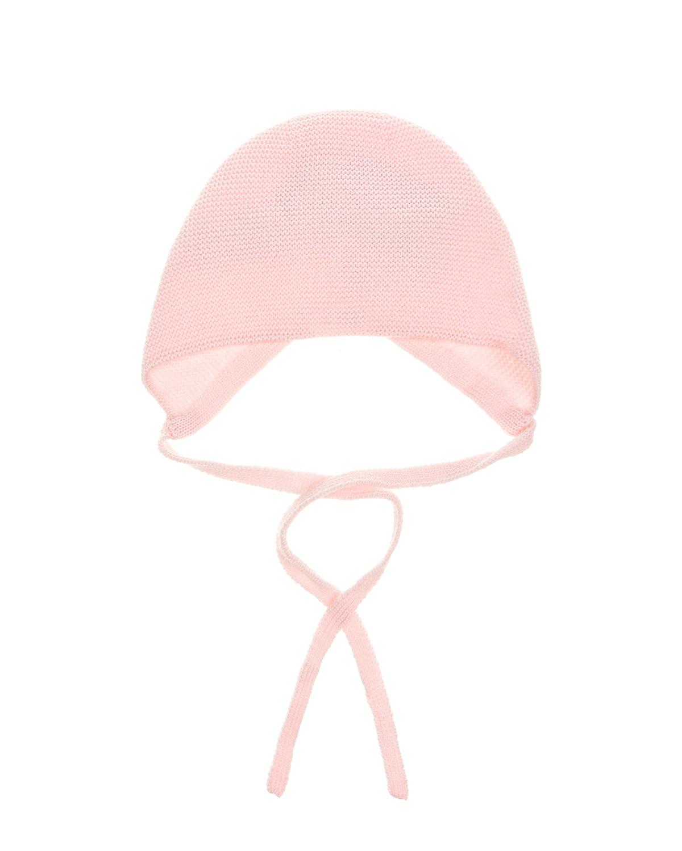 Купить Розовый вязаный чепчик из шерсти Paz Rodriguez