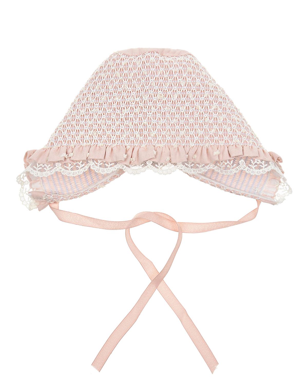 Купить Розовый чепчик из хлопка Paz Rodriguez