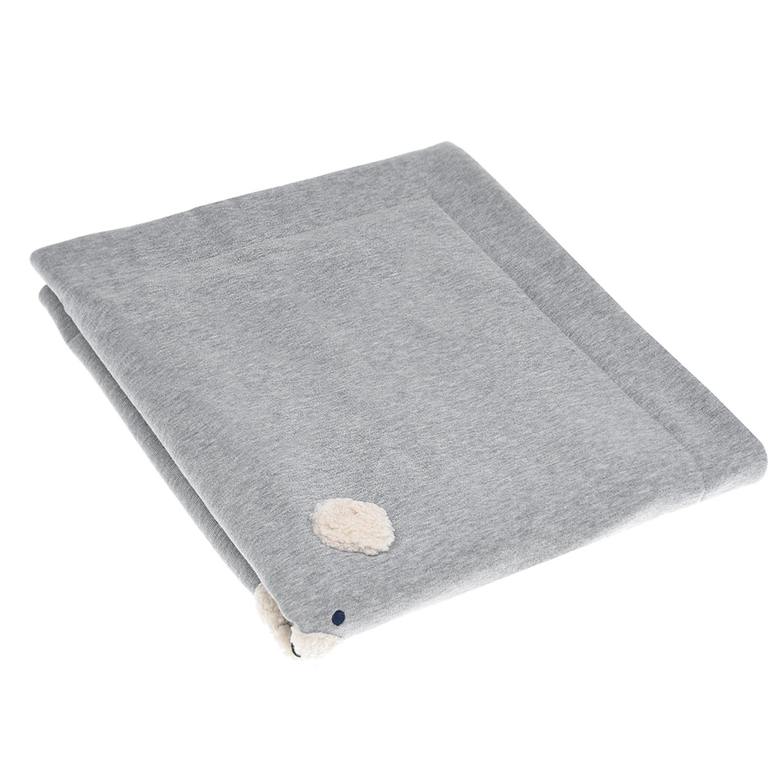 Купить Серое хлопковое одеяло IL Gufo детское, Серый, 100%хлопок, 100%полиэстер