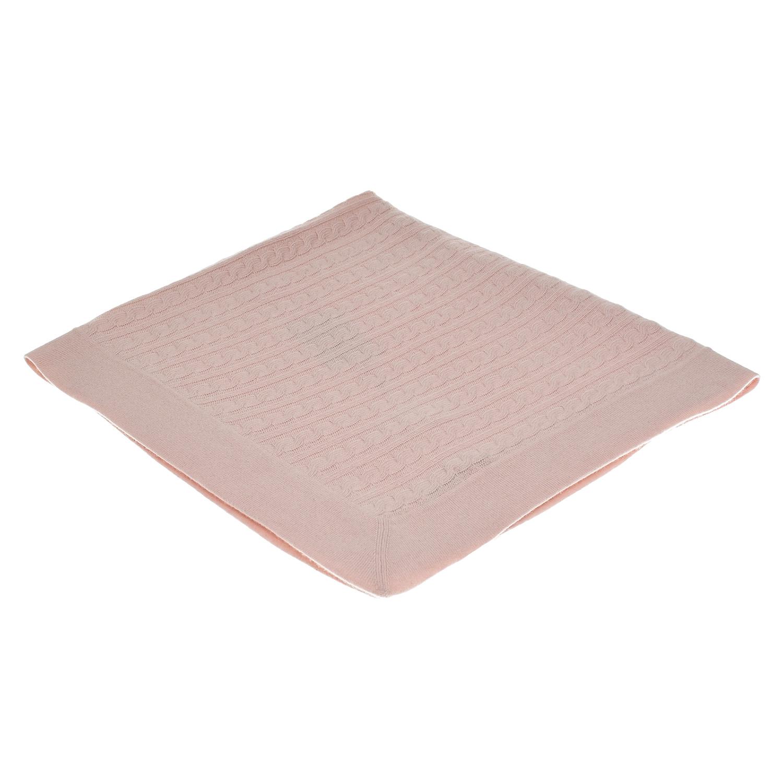 Купить Розовый плед из кашемира, 90х90 см Oscar et Valentine детский, 100% кашемир