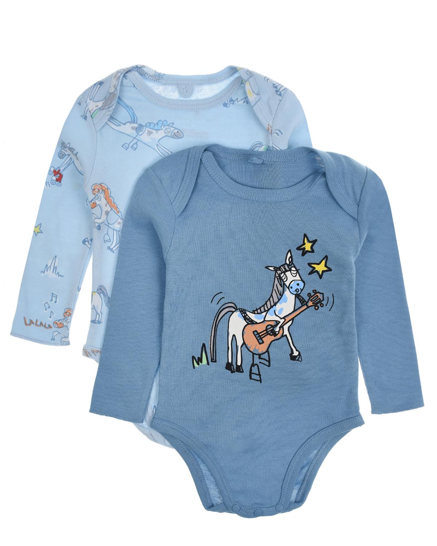 Купить Комплект из двух хлопковых боди Stella McCartney детский, Мультиколор, 100%хлопок