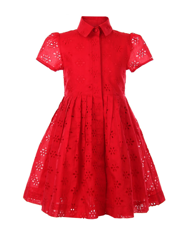 Платье Oscar de la Renta для девочекОдежда<br><br>