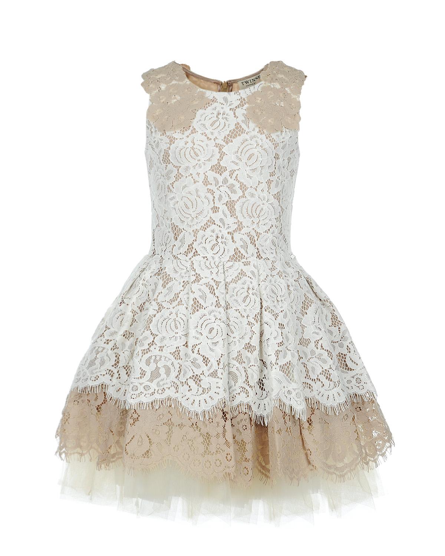 Платье Twin Set для девочекОдежда<br><br>