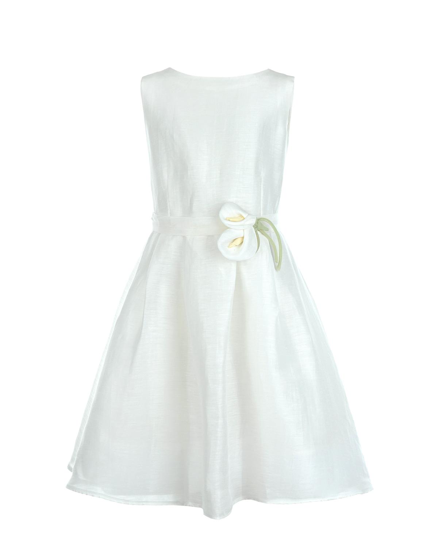 Купить Платье с цветочной аппликацией, Dal Lago