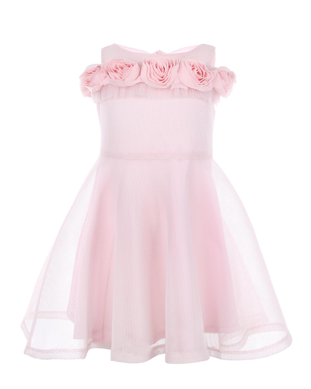 Платье с открытыми плечами David Charles детское фото