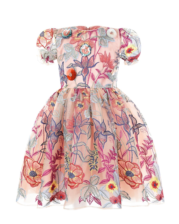 Купить Платье с цветочной вышивкой Eirene детское
