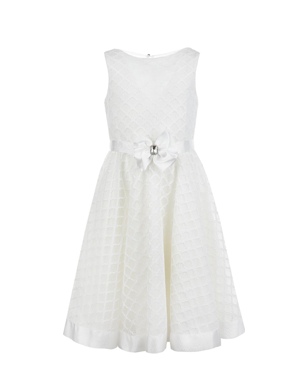 Купить Платье молочного цвета Aletta детское, Нет цвета, 100%хлопок, 100%полиэстер