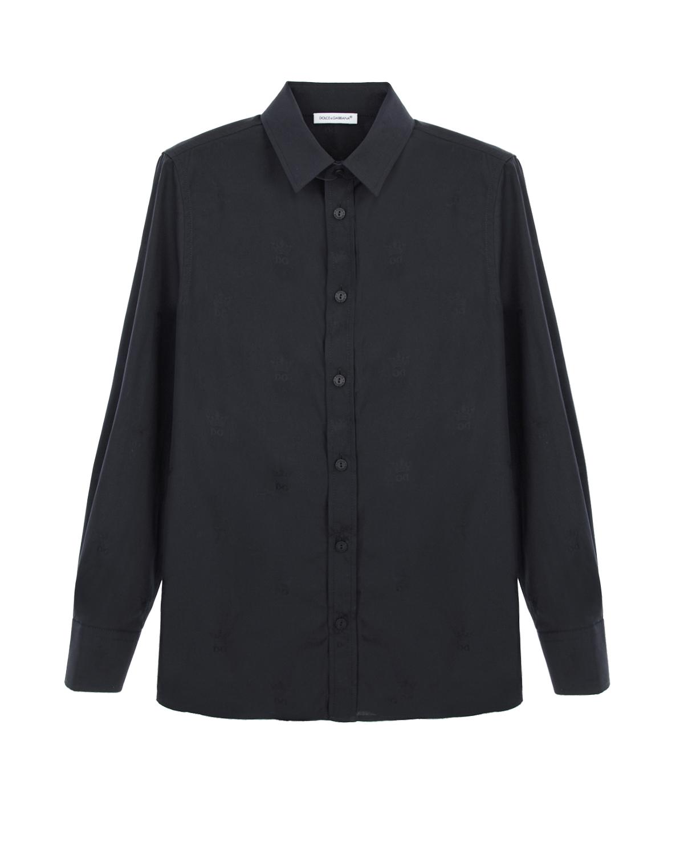 Рубашка с жаккардовым узором Dolce&Gabbana