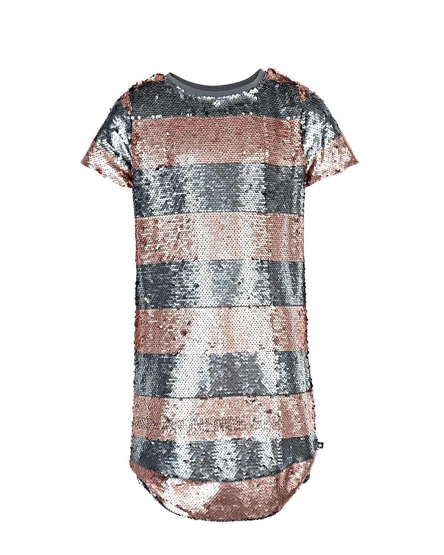 Купить Платье Silver Blush Stripe, Molo