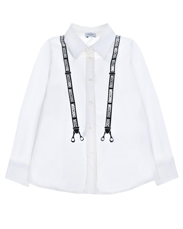 Купить со скидкой Хлопковая рубашка с принтом