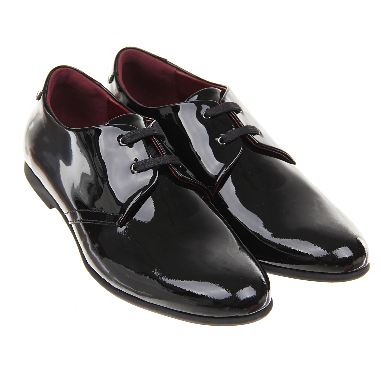 Черные лакированные туфли Dolce&Gabbana детские фото
