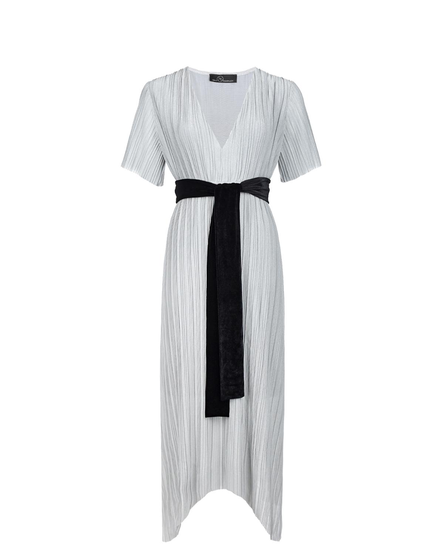 Платье для беременных с бархатным поясом Dan Maralex цвет нет цвета