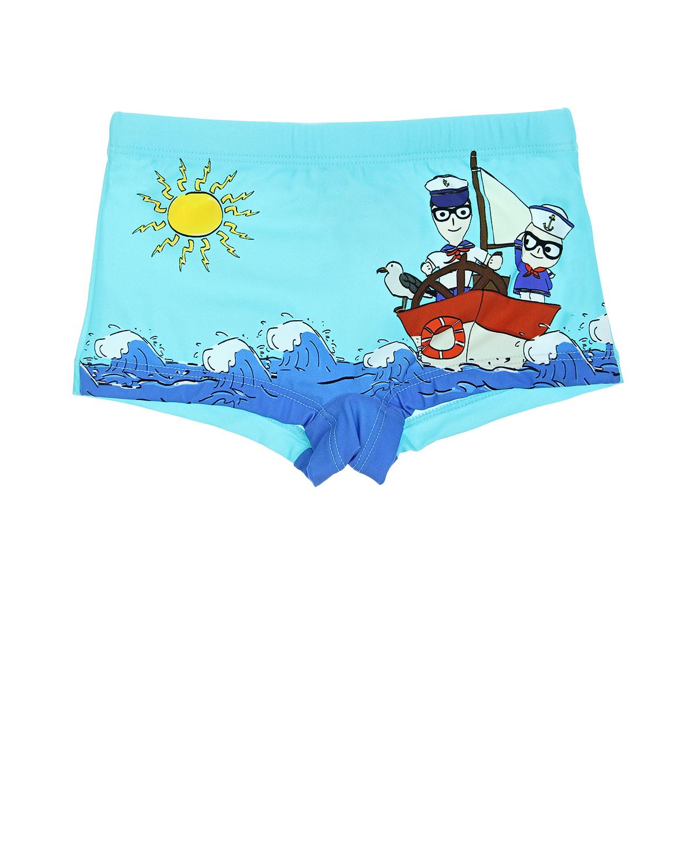 Плавки-шорты Dolce&Gabbana для малышей
