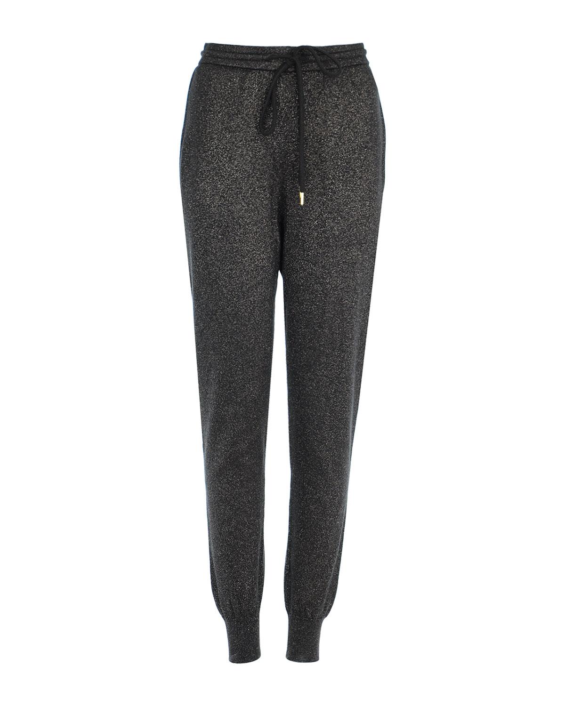 Купить Трикотажные брюки-джоггеры с люрексом, Markus Lupfer