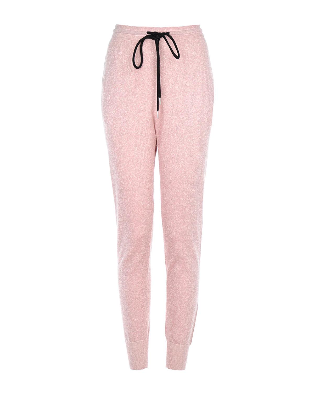Купить со скидкой Трикотажные брюки-джоггеры с люрексом Markus Lupfer